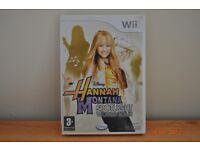 Hannah Montana Wii game