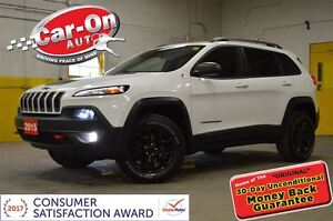 2015 Jeep Cherokee Trailhawk 4X4 LEATHER NAV REMOTE START