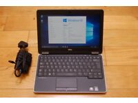 Dell Latitude E7240 Ultrabook laptop 128gb SSD Intel core i5 4th gen processor with backlit keyboard