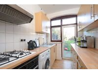 This spacious house offers four double bedrooms and a private garden, situated on Hebdon Road.
