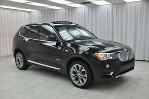 2017 BMW X3 28i x-DRIVE TWIN TURBO AWD LUXURY SUV w/ BLUETOOTH