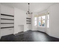 This newly refurbished three bedroom house offers a large reception space and private garden.