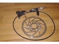 Hope MTB disc brake set, front + rear
