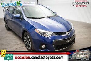 2014 Toyota Corolla S * AUTO * AC * TOIT * MAGS * BANCS CHAUFFAN