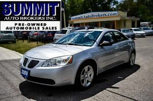 2009 Pontiac G6 SE AUTO CAR-PROOF CLEAN