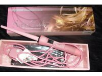 PINK PROFESSIONAL CURLING IRON BOUGHT FROM AMAZON COST £35 LIKE NEW CONDITION