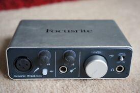 Focusrite iTrack Solo (£100 on Amazon)