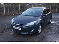 ** 2012 FORD FOCUS 1.6 TDCI ZETEC ** Diesel £20 Road Tax - 50 + MPG( vauxhall volkswagen audi seat )