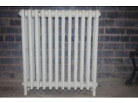 Cast iron radiator, Ideal brand. 4 tube, 12 sections.