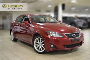 2012 Lexus IS 250 AWD, LEATHER, SUNROOF, 1 OWNER