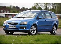 2006 Ford Focus 1.6 Zetec Climate 5 DOORS+ESTATE+1 FORMER KEEPER+LONG MOT+READY TO DRIVE AWAY