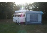 NR Executive Awning, not with caravan or annexe as shown, in picture.