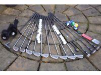Full set of Wilson Golf Clubs
