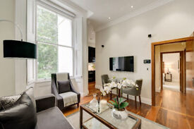 Grade II listed 1st floor Kensington W2 apartment with porter and lift