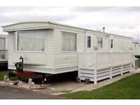 3 bed 8 berth static caravan for rent