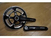 FSA Gossamer crankset - BB30 - 50 / 34 double chain ring - 172.5mm