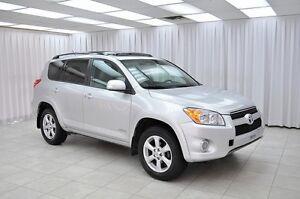 2012 Toyota RAV4 LIMITED 4x4 SUV w/ HTD LEATHER, BLUETOOTH, SUNR