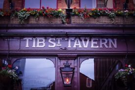 Full time and Parttime Chef/Cook required for busy Northern Quarter bar