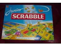 """MATTEL"" JUNIOR SCRABBLE BOARD GAME FOR AGES 5-10 YEARS FOR 2-4 PLAYERS"