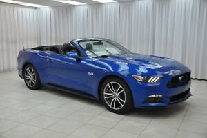 2017 Ford Mustang GT PREMIUM 5.0L 435HP CONVERTIBLE COUPE w/ BLU
