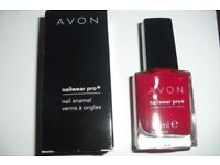 "BRAND NEW IN BOX NAIL ENAMEL COLOUR ""REAL RED"""