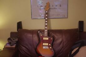 revalation electric guitar, as new never used outdoors,sunburst,rosewood fingerboard,collection only