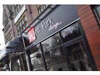 Experienced chef & waiting staff