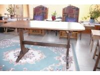 Ercol wooden dining table