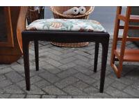 vintage retro stag minstrel dressing table stool