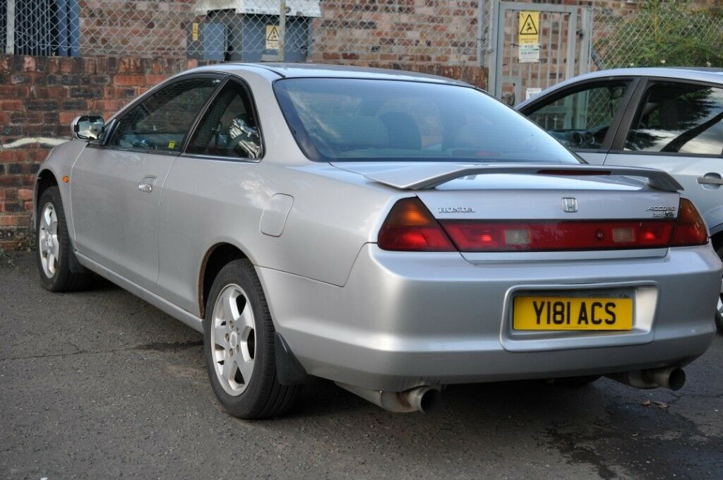 2001 honda accord coupe v6