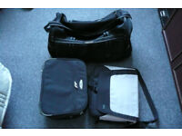 Holdall, computer bag, suitcase