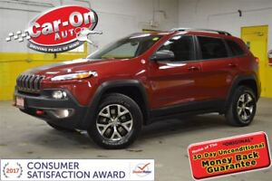 2016 Jeep Cherokee TRAILHAWK 4X4 LEATHER ALLOYS LOADED