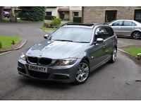 BMW 320D M SPORT FACELIFT **PAN ROOF** Xenon not 330d 335d 520d audi s3 a3 a4 avant s line gtd gti