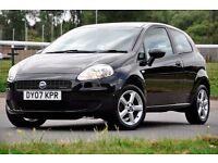 2007 Fiat Grande Punto 1.3 Multijet 16v Active 3dr+FULL SERVICE HISTORY+JUST SERVICED+LONG MOT