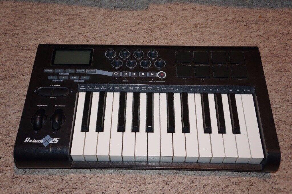 M-Audio Axiom 25 USB Midi Controller Advanced Keyboard