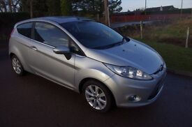 REDUCED IN PRICE.......NEW MODEL FORD FIESTA 1.25 ZETEC