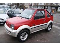 Suzuki Jimny O2 JLX Soft Top (red) 2004