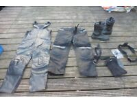 RST BOOTS UK 11,ASHMAN TROUSERS UK 34 + OTHERS