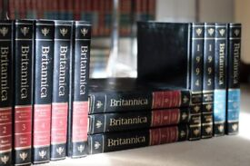 Leather bound 1991 Encyclopedia Britannica 32vols plus 5 yearbooks