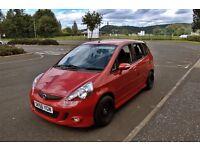 Honda Jazz 1.4 Sport 5dr Hatchback Red Manual 5 Speed Full Electrics 2 Keys Auto Climate Control