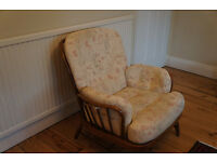 2 Ercol Jubillee armchairs. Frame excellent condition.