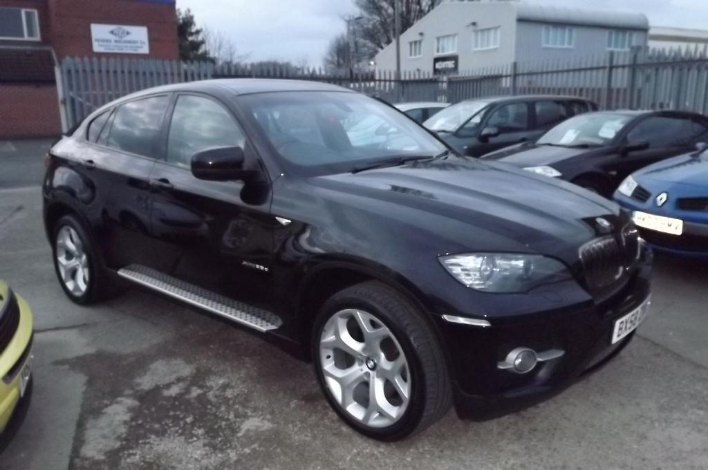 bmw x6 3 0 xdrive 35d black 2008 in stapleford nottinghamshire gumtree. Black Bedroom Furniture Sets. Home Design Ideas