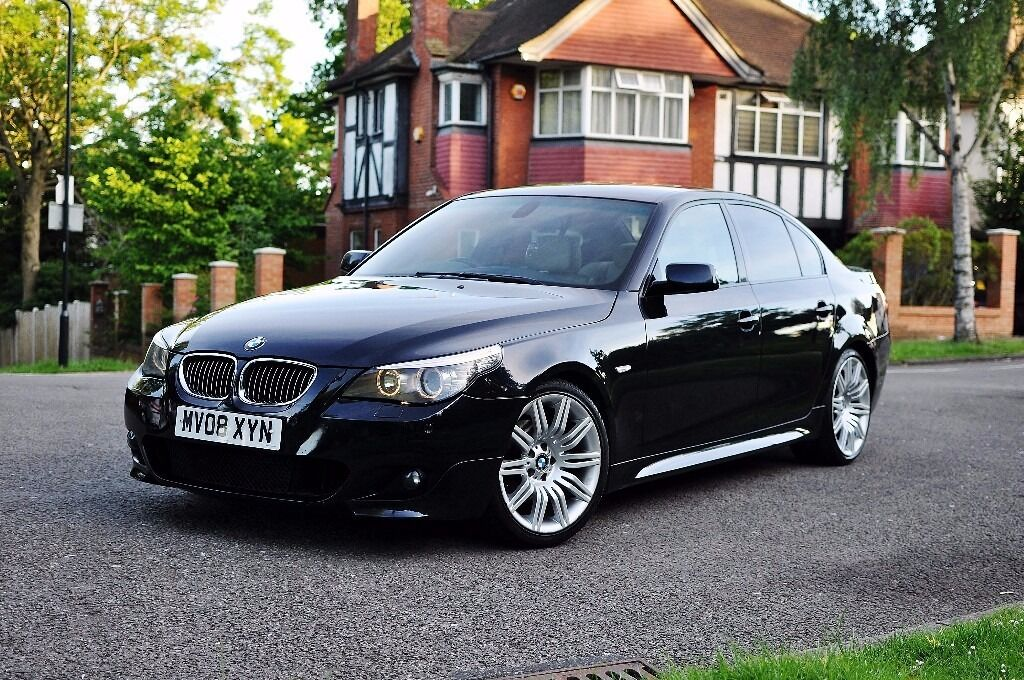bmw 525d 2008 full m sport 3 0 automatic spider wheels. Black Bedroom Furniture Sets. Home Design Ideas