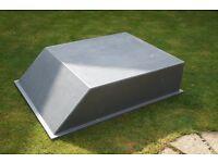 Car Trailer Cover / Extension (Fiberglass 1100mm wide x 1500mm Length)