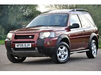 2005 Land Rover Freelander 1.8 SE Hard Top 3dr+FREE WARRANTY+LOW MILAGE+HEATED LEATHER SEATS