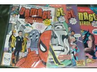 Selection of marvel comics and DC comics