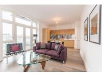 New 2 bed 2 bath 5th floor flat in Sterling Mansions, E1, 5 mins to Aldgate East station, concierge