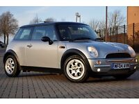 2004 MINI Hatch 1.6 Cooper 3dr+FREE WARRANTY+PANORAMIC ROOF+12 MONTHS MOT+JUST SERVICED
