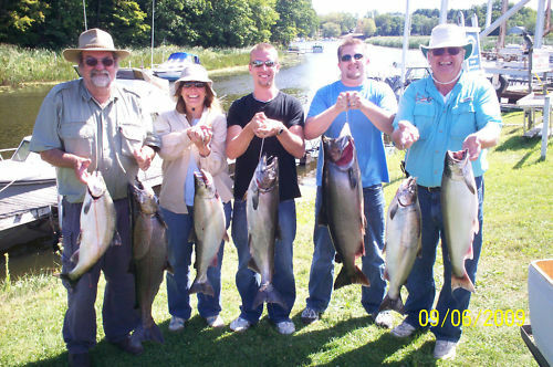 Lake Ontario Salmon Charter trip for 2021 DATES ARE FILLING FAST!!! BOOK TODAY!