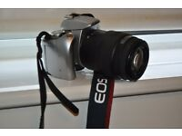 CANON EOS 35mm film V300 WITH 70/210 ELECTRONIC ZOOM LENSE, PLUS FREE MINOLTA DYNAX WITH 2 LENSES